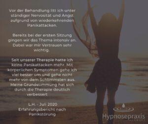 Hypnosetherapie gegen Panikstörung